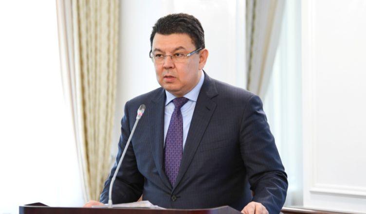 Bozumbayev told about the progress of Tengiz FGP
